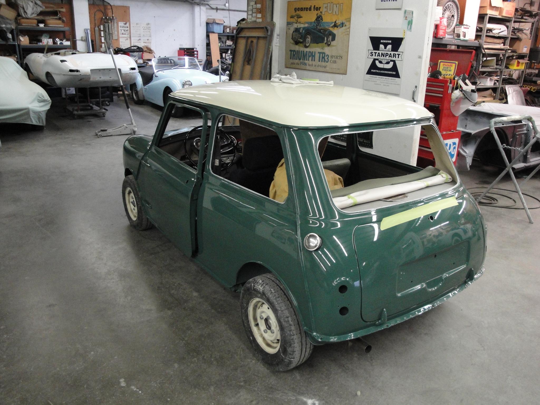 998 Mini Cooper – New Paint Britsport of Seattle