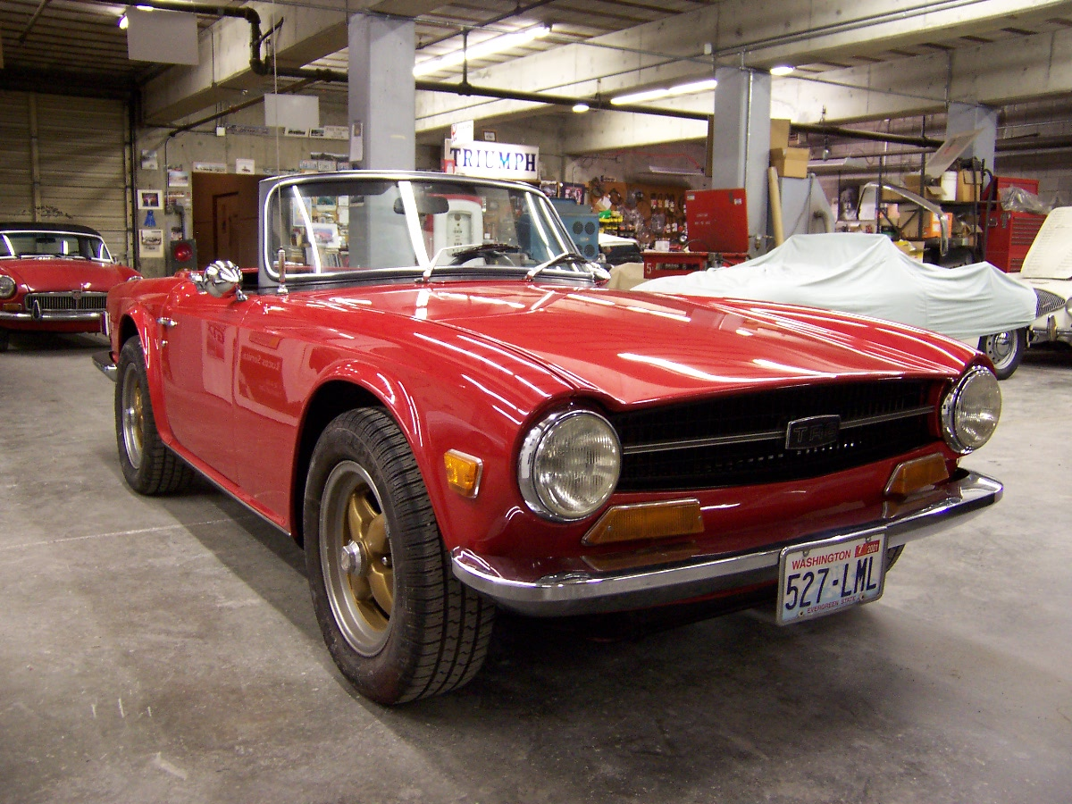 1971 triumph tr6 britsport of seattle. Black Bedroom Furniture Sets. Home Design Ideas