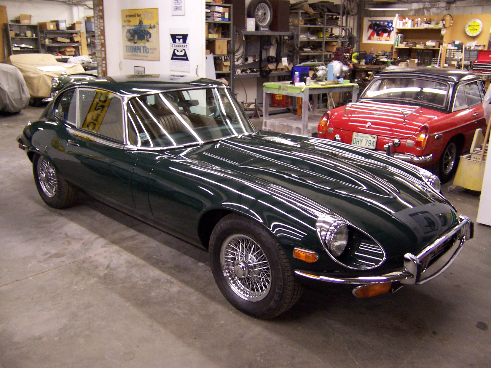 1972 Jaguar E Type 2+2