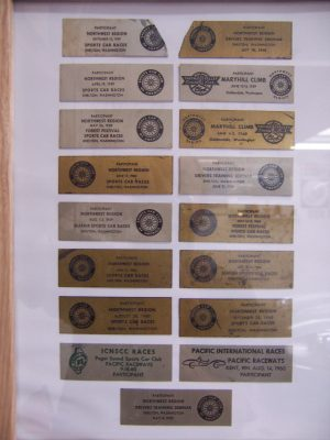 Jaguar XK120 plaques