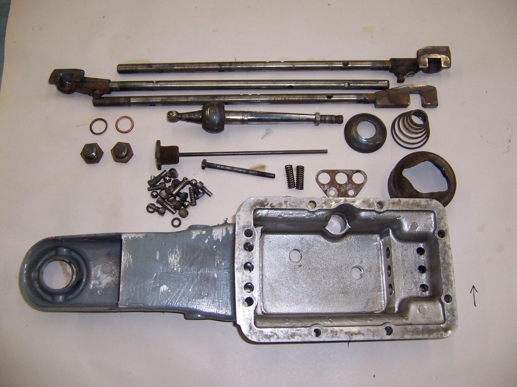 Triumph TR3 Gearbox OD