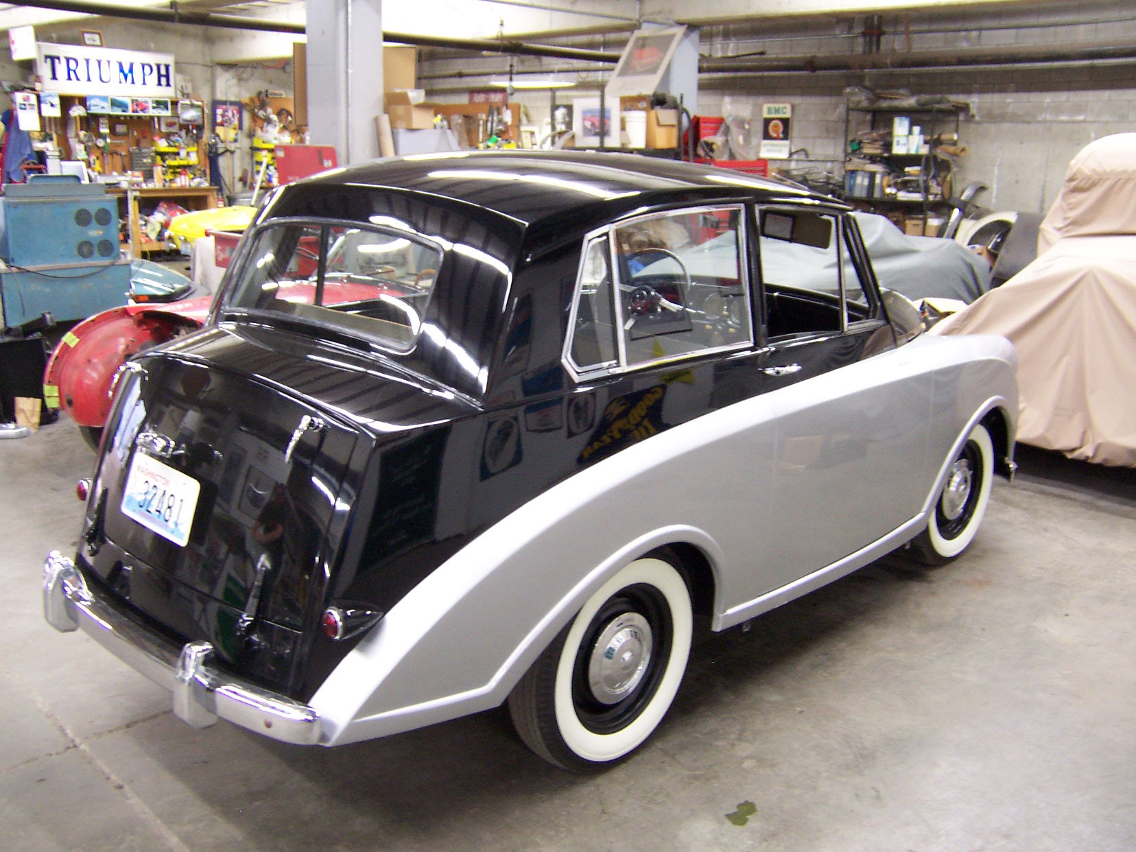 1953 Triumph Mayflower « Britsport of Seattle