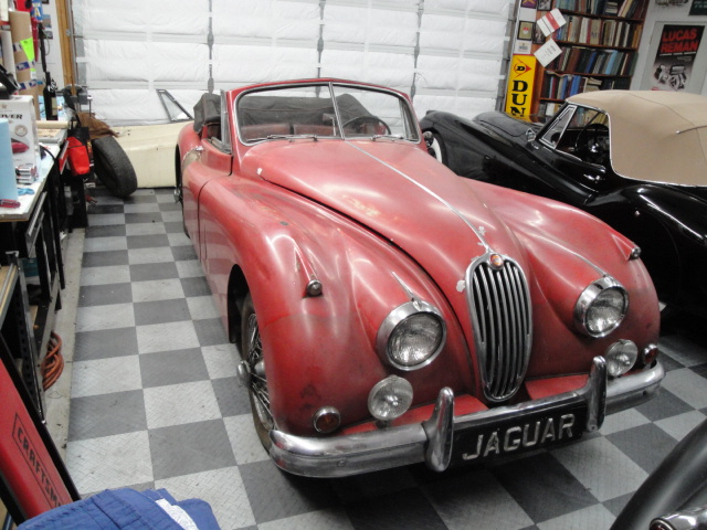 1957 jaguar xk140 drop head coupe britsport of seattle